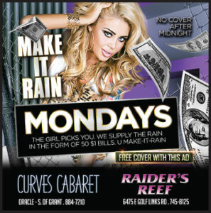 make it rain in tucson strip club